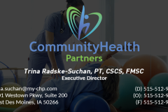 Community Health Partners Business Card